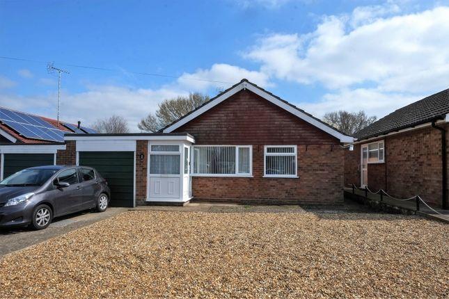 Thumbnail Detached bungalow for sale in Hillcrest Avenue, Toftwood, Dereham