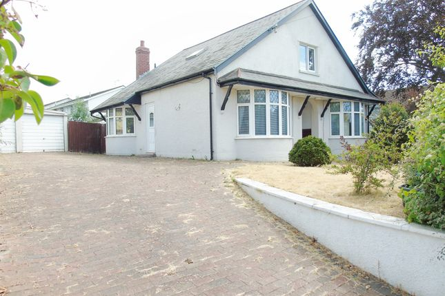 Thumbnail Detached bungalow for sale in Pontypridd Road, Barry