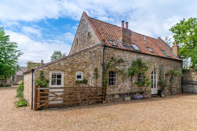 Thumbnail Barn conversion for sale in Council Bungalows, Wretton Road, Stoke Ferry, King's Lynn