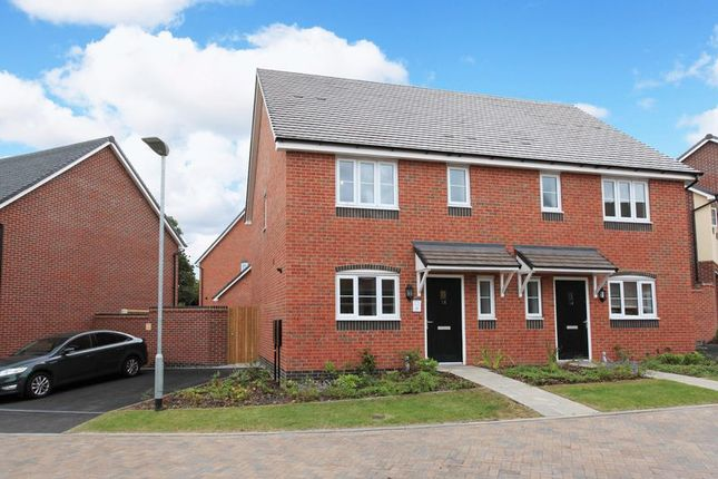 Thumbnail Semi-detached house to rent in Amies Meadow, Broseley