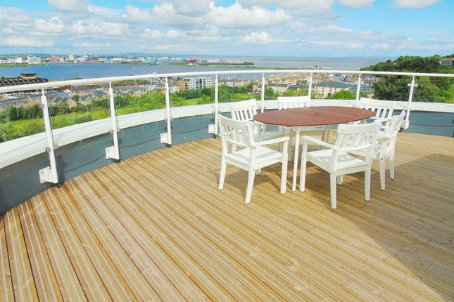 Thumbnail End terrace house for sale in Trem Elai, Penarth Heights, Penarth