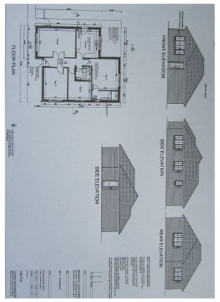 Thumbnail Bungalow for sale in Plot 1, Hitchin Road, Arlesey, Bedfordshire