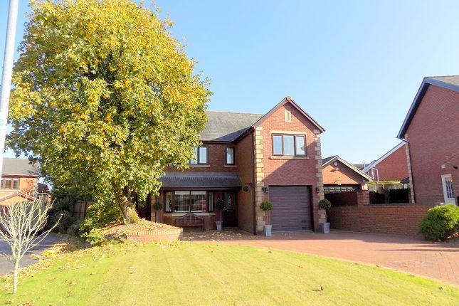 Thumbnail Detached house for sale in Hazel Tree Court, Bryncoch, Neath, West Glamorgan.