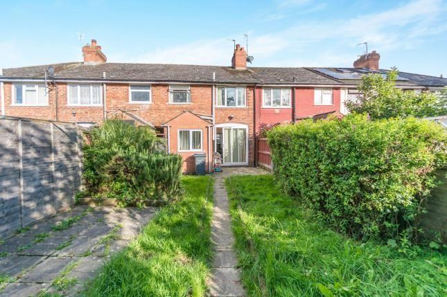Rear Views of Colemeadow Road, Birmingham, West Midlands B13