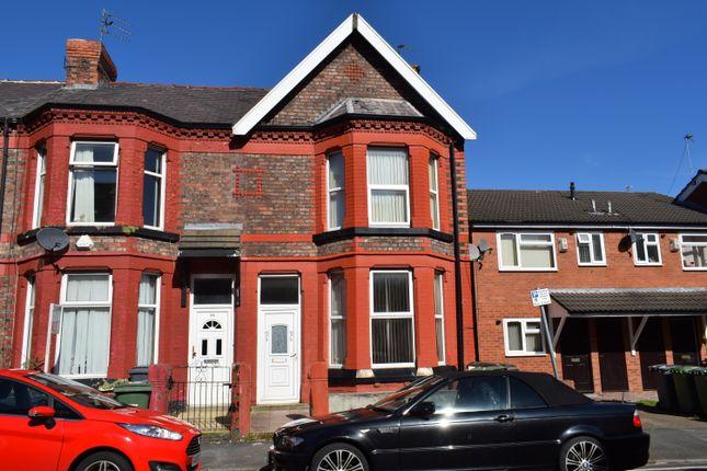 Thumbnail Flat to rent in Grange Road West, Prenton