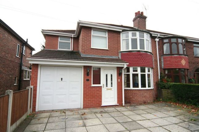 Thumbnail Semi-detached house to rent in St. Georges Crescent, Timperley, Altrincham