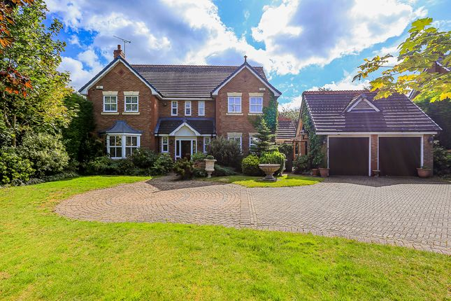 Thumbnail Detached house for sale in Whitefields Road, Solihull