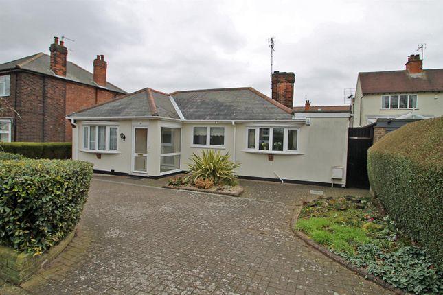 Thumbnail Detached bungalow for sale in Birkland Avenue, Mapperley, Nottingham