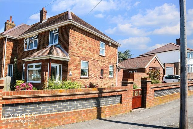 Thumbnail End terrace house for sale in Foreland Avenue, Folkestone, Kent