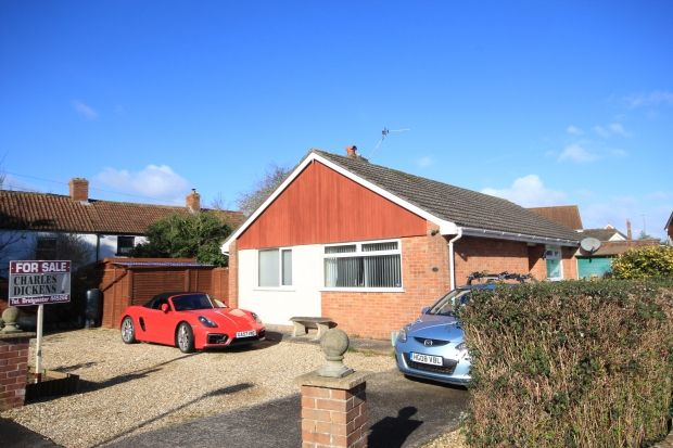 Thumbnail Detached bungalow for sale in Baymead Close, North Petherton, Bridgwater