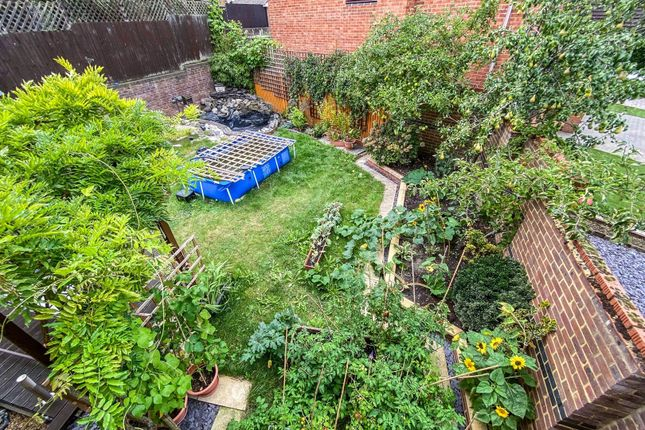 Garden of Ramsdell Road, Fleet GU51