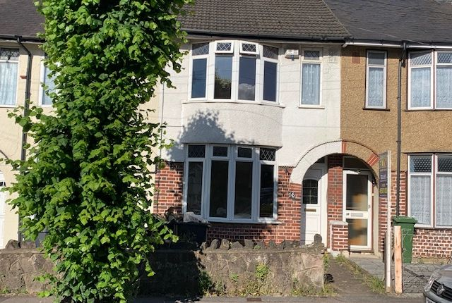 Thumbnail Terraced house to rent in St. Monicas Avenue, Luton