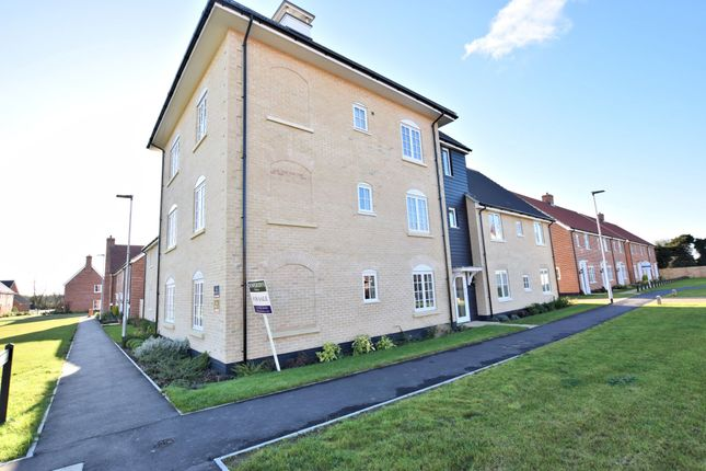 Thumbnail Flat for sale in Byfords Way, Watton, Thetford