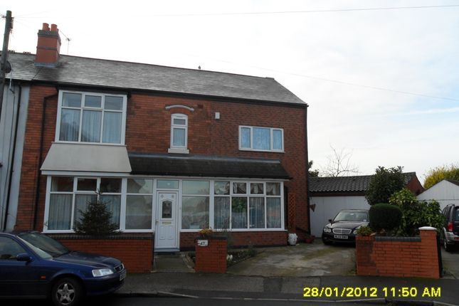Thumbnail Terraced house to rent in Willmore Road, Perry Barr
