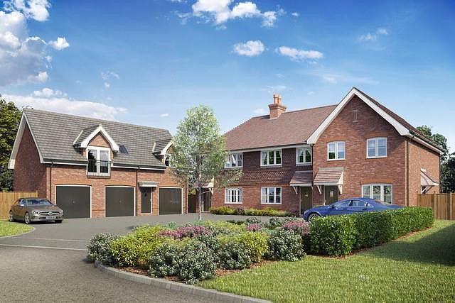 2 bed terraced house for sale in Wheeler Lane, Witley, Godalming GU8