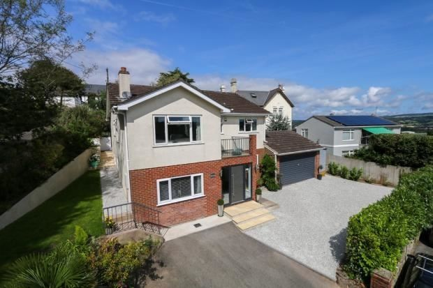 Thumbnail Detached house for sale in Seymour Road, Newton Abbot, Devon.