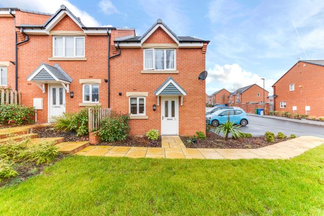 Thumbnail End terrace house for sale in Panthers Place, Chesterfield
