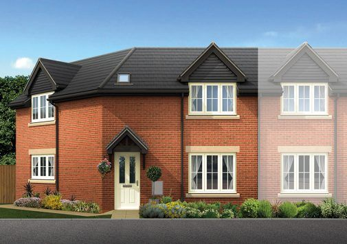 Thumbnail Semi-detached house for sale in The Dee. West Park Drive, Macclesfield, Cheshire