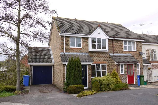 Thumbnail End terrace house to rent in Woodhouse Street, Binfield, Bracknell