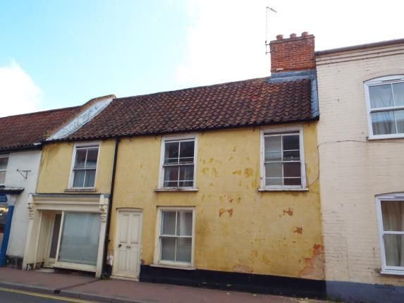Thumbnail Terraced house for sale in Fakenham, Norfolk