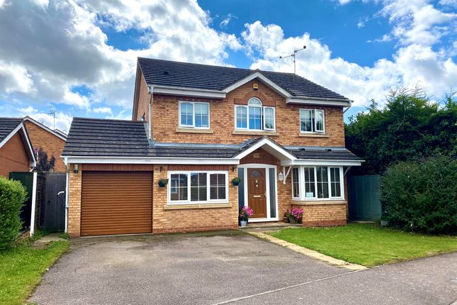Thumbnail Detached house for sale in Cooper Court, Thrapston, Kettering