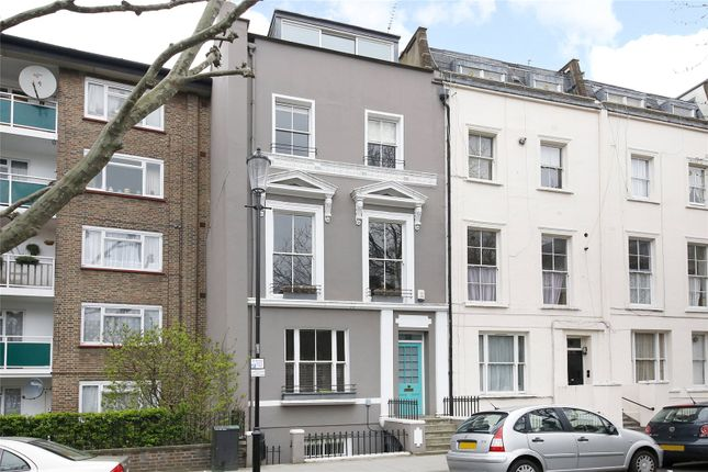 Exterior of Cornwall Crescent, London W11