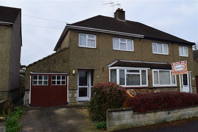 3 bed semi-detached house for sale in Orchard Road, Chippenham, Wiltshire