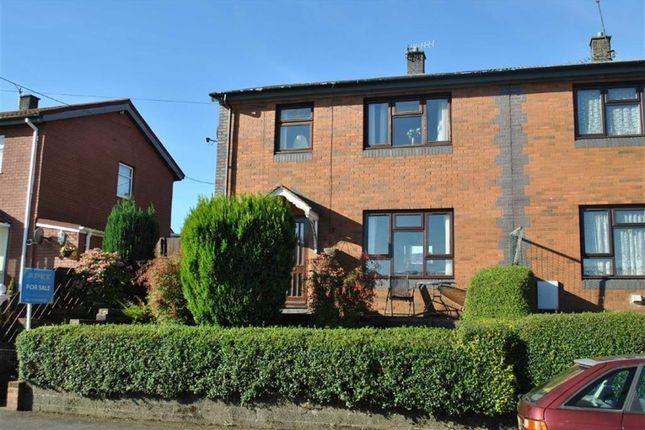 Thumbnail Semi-detached house for sale in Heolddu Grove, Bargoed