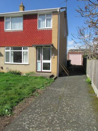Thumbnail End terrace house to rent in Glebe Way, Whitstable