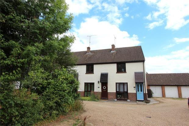 Thumbnail End terrace house for sale in Colehills Close, Clavering, Saffron Walden, Essex