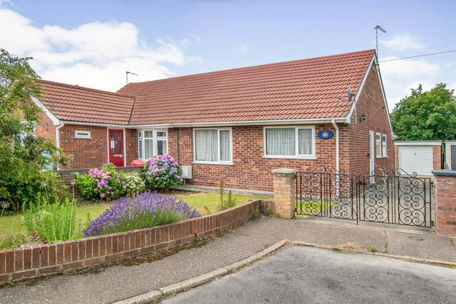 2 bed semi-detached bungalow for sale in Queensway, Caister-On-Sea, Great Yarmouth NR30