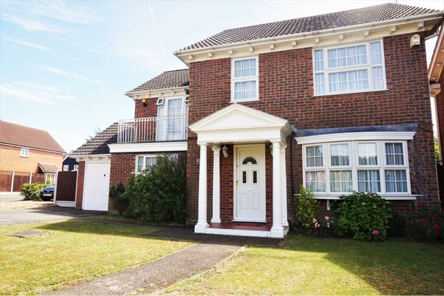 Thumbnail Detached house for sale in Kennedy Avenue, Basildon