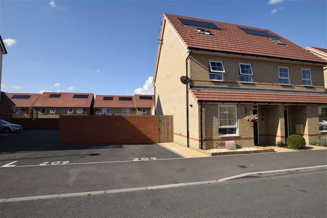 Thumbnail Semi-detached house for sale in Augusta Road, Stanford-Le-Hope, Essex