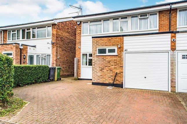 Semi-detached house for sale in Parr Crescent, Hemel Hempstead