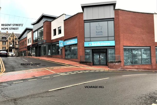 Thumbnail Retail premises to let in Priory Street, Wrexham