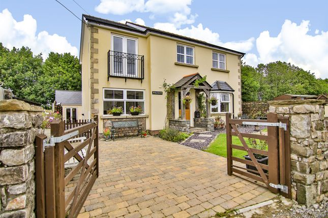 Thumbnail Detached house for sale in Degar Road, Llanharry, Pontyclun