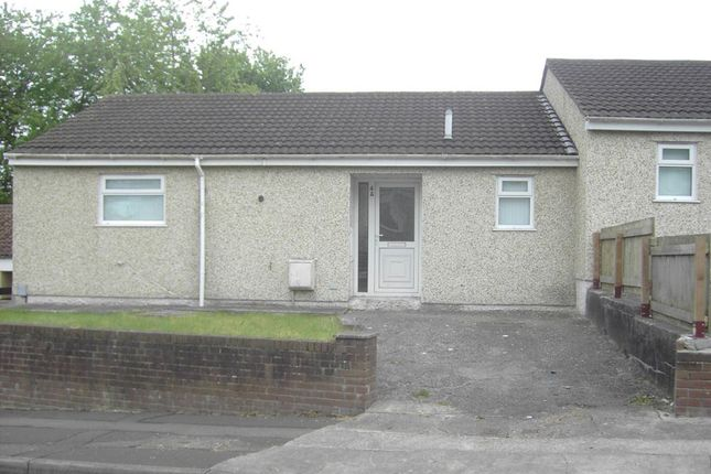 Thumbnail Bungalow to rent in Clas Y Bedw, Waunarlwydd, Swansea