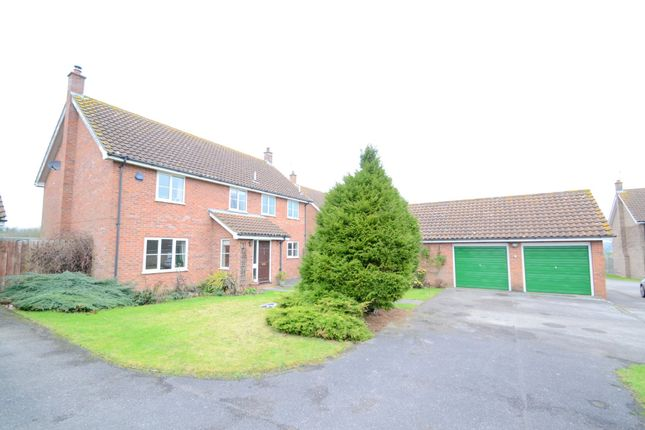 Thumbnail Detached house for sale in Dukes Meadow, Cockfield, Bury St. Edmunds