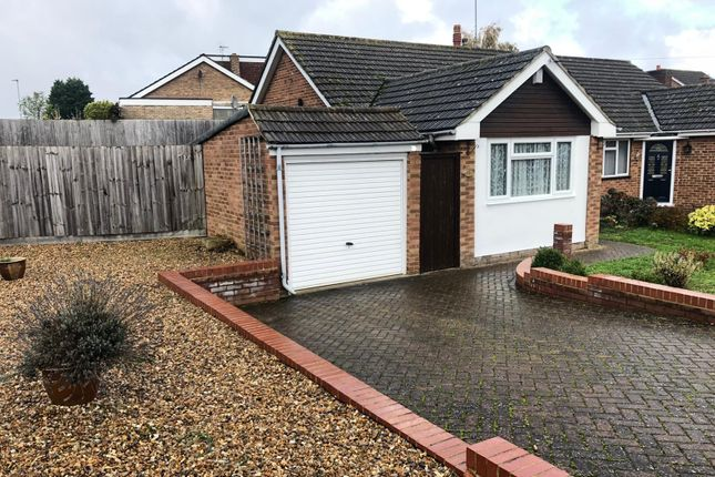 Thumbnail Bungalow to rent in Elmwood Crescent, Flitwick, Bedford