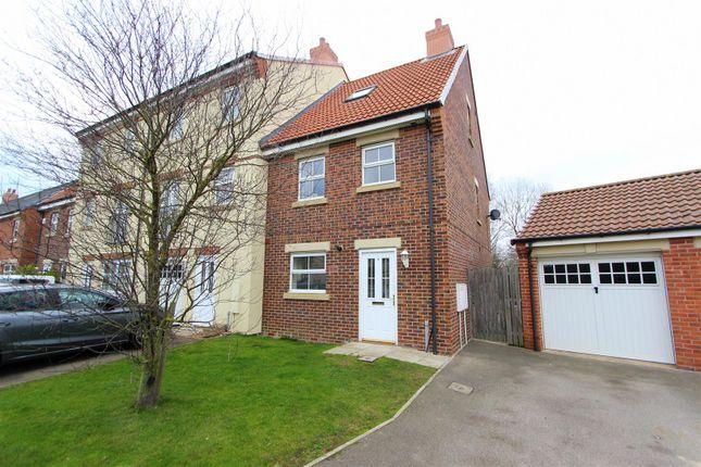Thumbnail Semi-detached house to rent in Merrybent Drive, Merrybent, Darlington