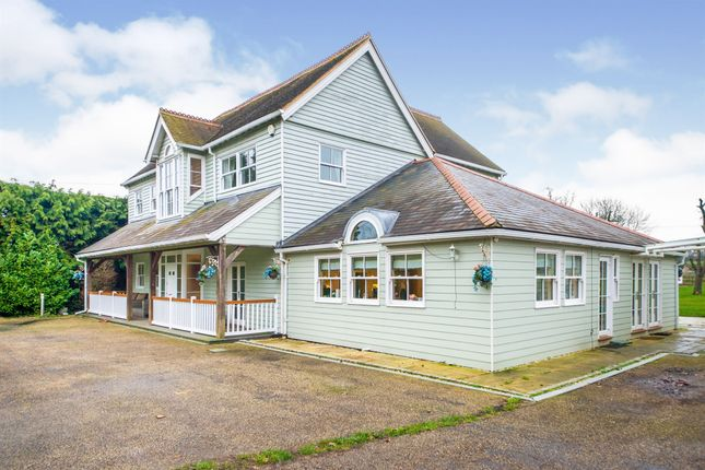 Thumbnail Detached house for sale in Epping Green Road, Epping Green, Epping