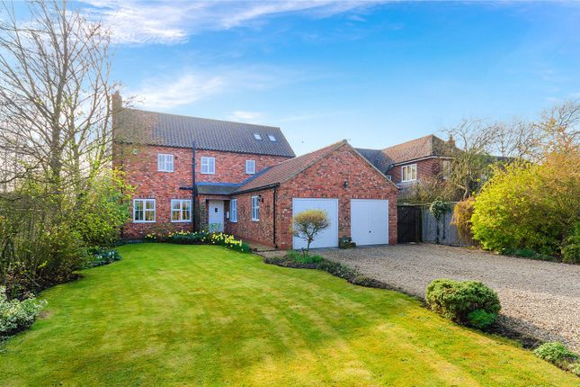 Thumbnail Detached house for sale in Ancaster Lane, Oasby, Grantham