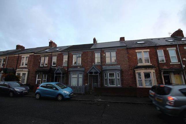 Thumbnail Terraced house to rent in Warwick Street, Heaton, Newcastle Upon Tyne