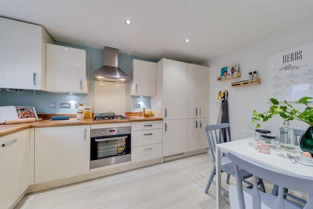 "Thumbnail Semi-detached house for sale in ""Barwick"" at High Street, Watchfield, Swindon"
