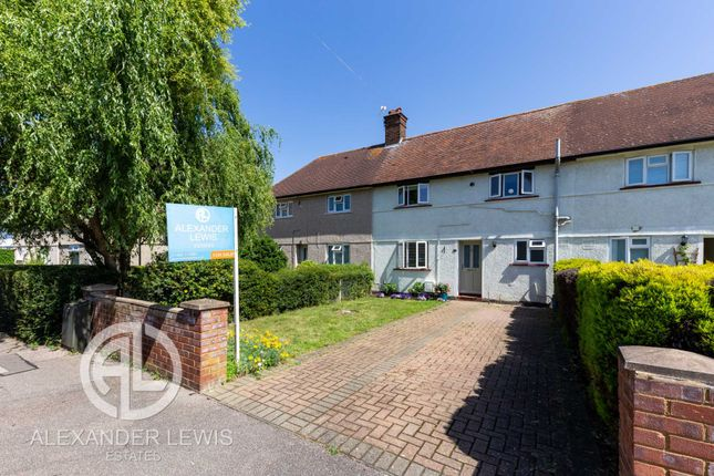 3 bed terraced house for sale in Abbotts Road, Letchworth Garden City SG6