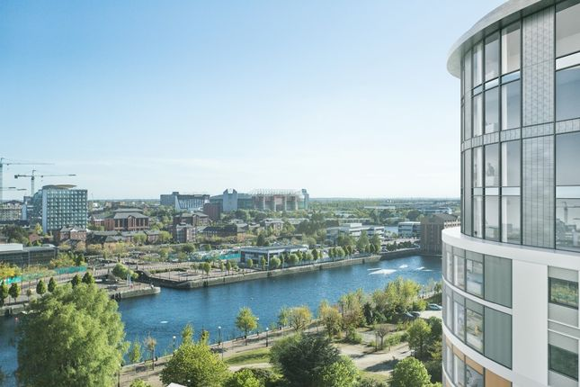 Thumbnail Town house for sale in Fortis Quay, Salford