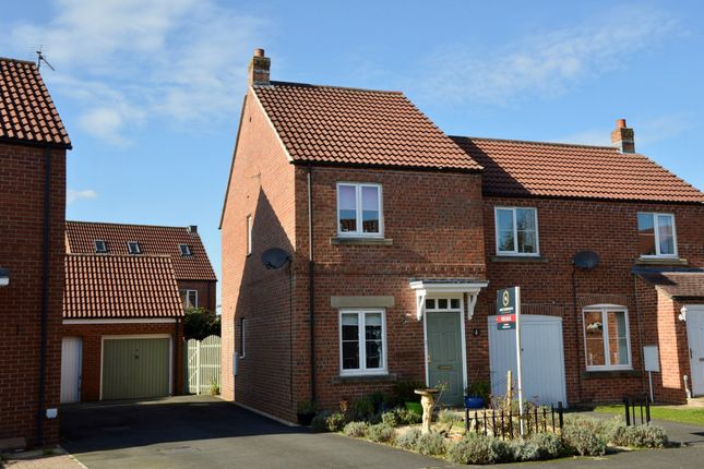 2 bed semi-detached house to rent in Grebe Way, Pickering YO18
