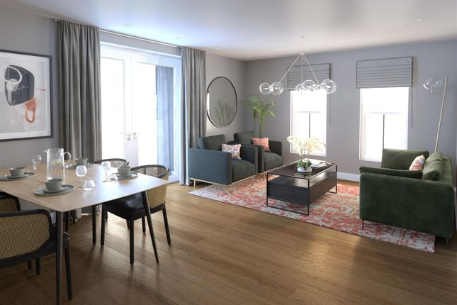 Thumbnail Flat for sale in The Laundry Quarter, Pontcanna, Cardiff