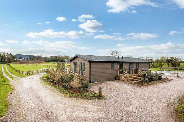Thumbnail Semi-detached bungalow for sale in Back Lane, Eaton, Congleton
