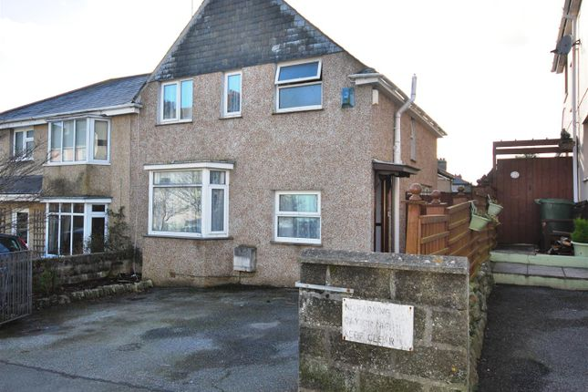 Thumbnail Semi-detached house for sale in Trendeal Gardens, Penzance